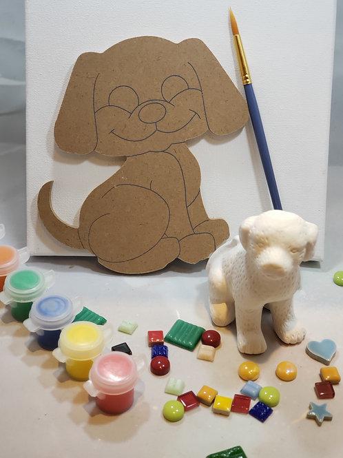 Playful Pup Art Kit