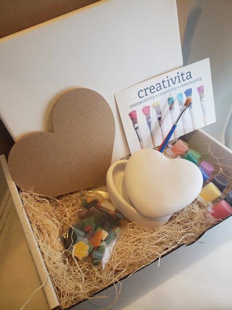 Heart Box Art Kit