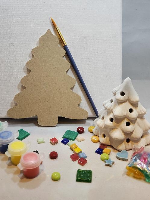 Oh Christmas Tree Art Kit
