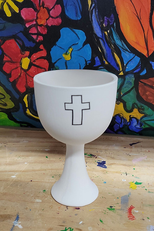 Hand Detailed Blessing Cup