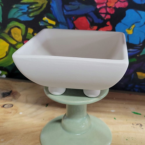 Square Footed Bowl