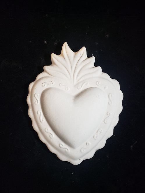 Sacred Heart Plaque
