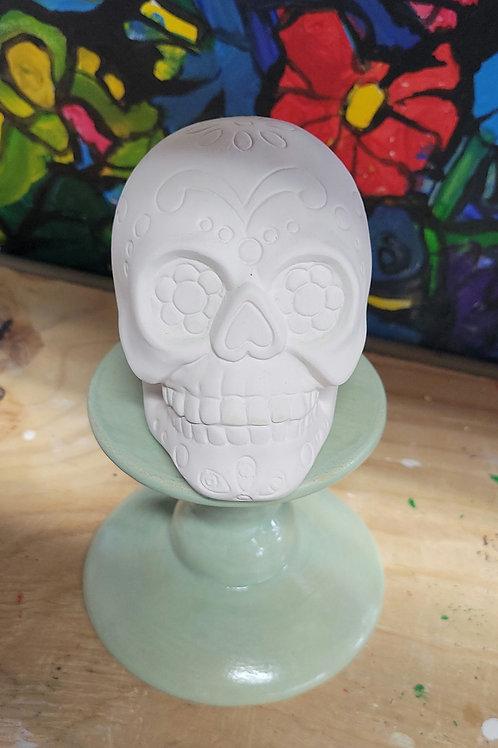 Sugar Skull Figurine