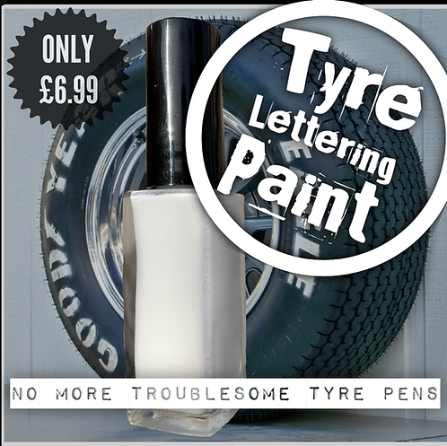 10ml Tyre lettering (sick of using rubbish tyre pens?)
