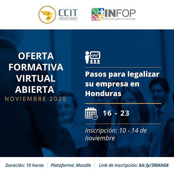 Pasos para legalizar su empresa en Honduras