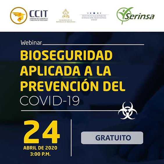 Bioseguridad aplicada a la prevención del COVID-19