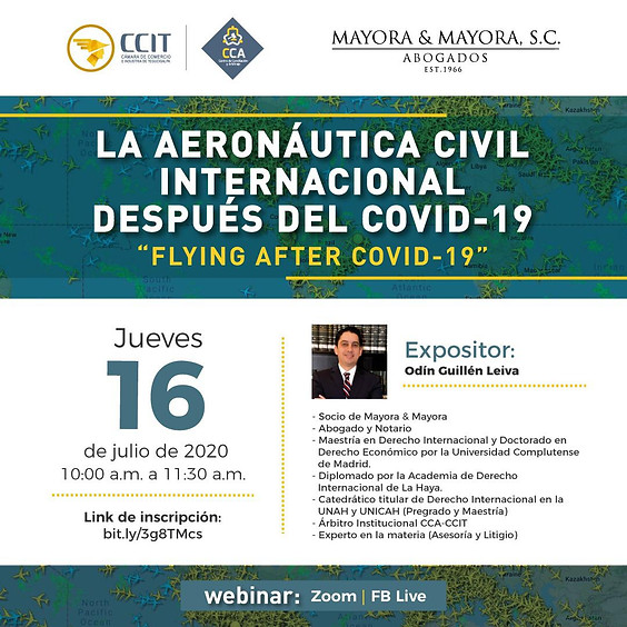 La aeronáutica civil internacional después del COVID-19