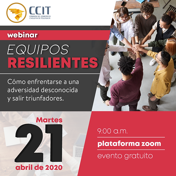 Webinar Equipos Resilientes