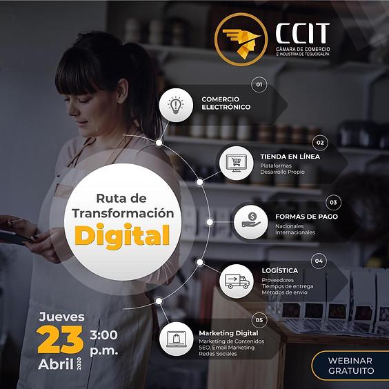 Webina Ruta de Transformación Digital
