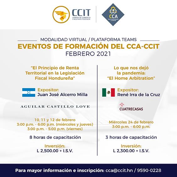 Eventos de Formación CCA-CCIT