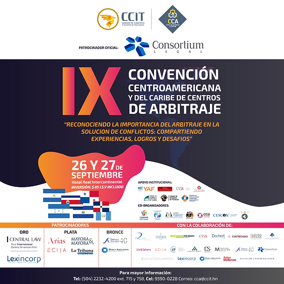 IX Convención Centroamericana y del Caribe de Centros de Arbitrajes