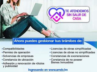 Gestión de trámites en línea AMDC