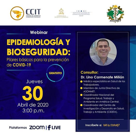Webinar Epidemiología y Bioseguridad