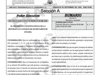 Aprobación Reglamento sobre Gobierno Electrónico