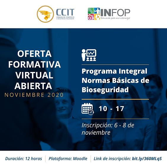 Programa Integral Normas Básicas de Bioseguridad