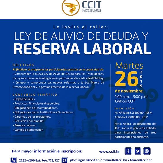 Ley de Alivio de Deuda y Reserva Laboral