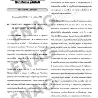 Cuotas de recuperación y plazos de resolución de productos farmacéuticos y de interés sanitario