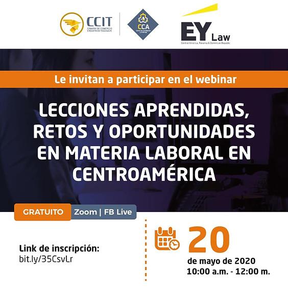 Lecciones aprendidas, retos y oportunidades en materia laboral en Centroamérica