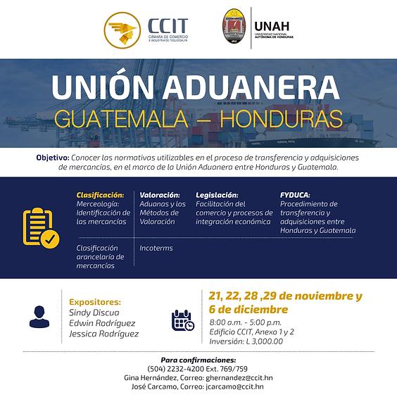 Unión Aduanera Guatemala - Honduras