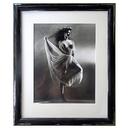 Original Greg Gorman Gallery B&W Photograph of Joan Severance