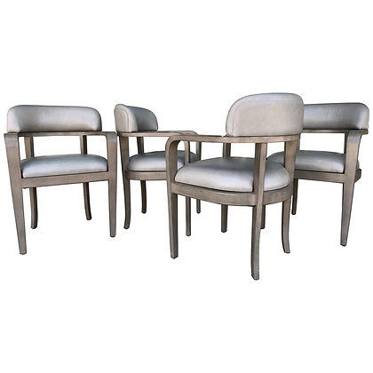 Set of 4 Iconic Steve Chase Modern Dining Chairs400