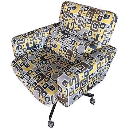 Pop Art Upholstered Desk Chair by Steve Chase