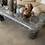 Thumbnail: Maitland Smith Modern Brown Tessellated Marble and Glass Coffee Table