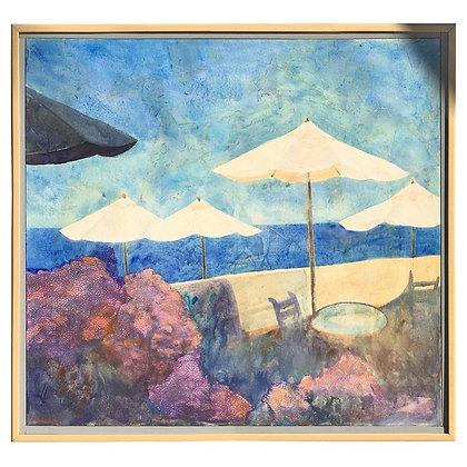 """Laguna Beach"" Original Painting by Duzan 1991"
