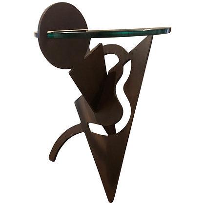 Pucci De Rossi 1980s Rare Artist Designed Side Table