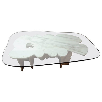 20th Century Modern Marble Coffee Table by Abbott Pattison