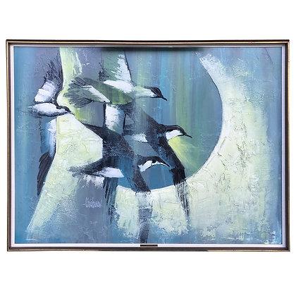 "Chichicov Original Modern Painting ""Dimineata"""