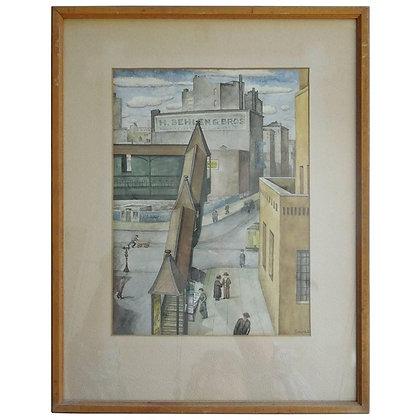 WPAOriginal Painting, 1934