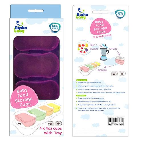 4oz. Baby Food Freezer Storage Cups