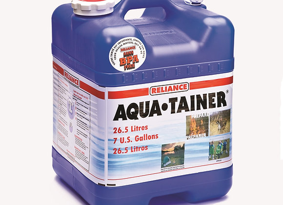 RELIANCE AQUA-TAINER WATER CONTAINER 7 GALLON