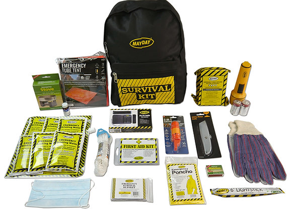 MayDay Deluxe Emergency Kit - 1Person