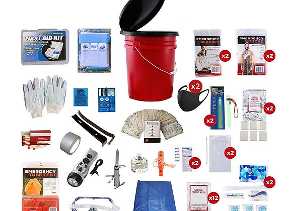 2 Person Bucket Kit