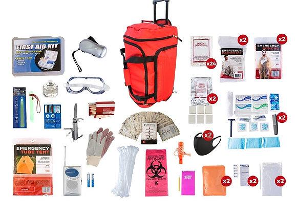 2 Person Elite Survival Kit (Rolling)