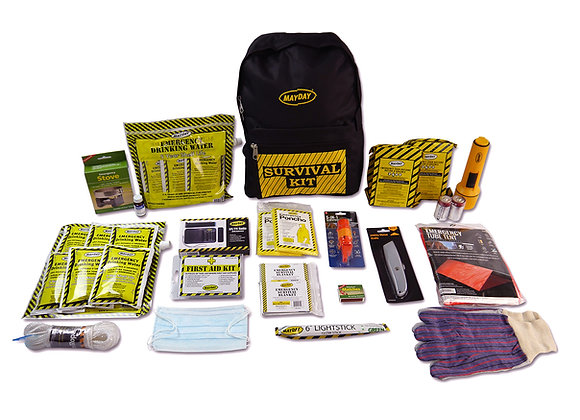 MayDay Deluxe Emergency Kit - 2 Person