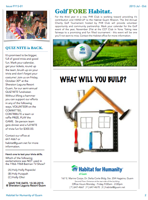 Habitat News