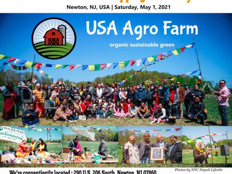 अमेरिकामा अर्ग्यानिक कृषि अभियानको थालनी: युएसए एग्रो फार्मको भूमि पूजा सम्पन्न । USA Agro Farm