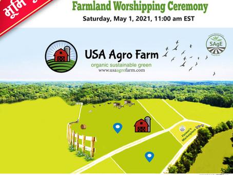Invitation at Farmland Worshipping Ceremony Sat., May 1, 2021, 11:00 am EST