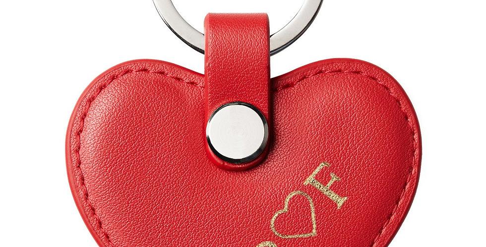MONAME - Schlüsselanhänger   Herz Rot
