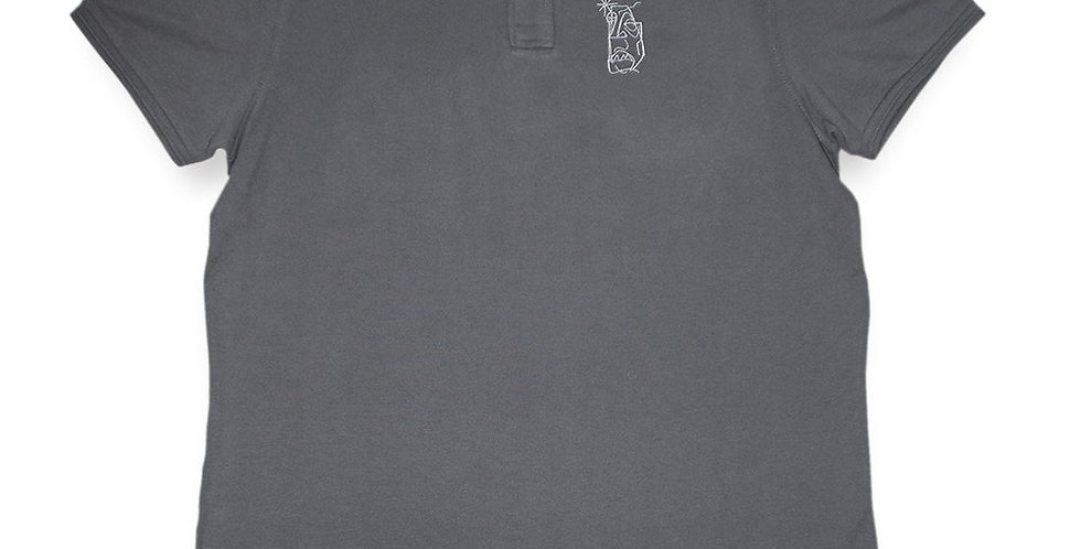 IGNORE SUPPLY - Ignore Design Poloshirt Grey