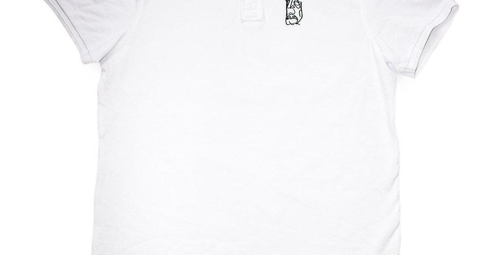 IGNORE SUPPLY - Ignore Design Poloshirt White