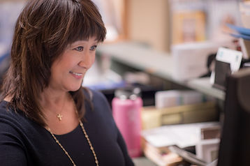 Linda the receptionist
