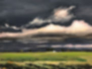 Clouds over Bushyhead, OK
