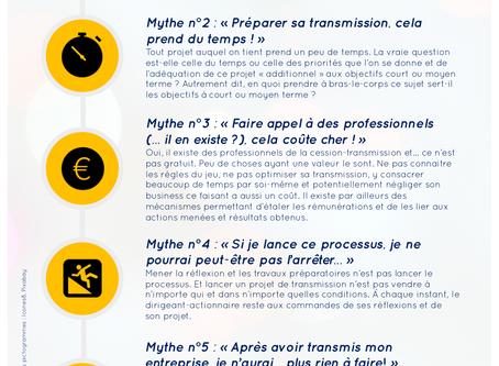 Les 5 mythes de la transmission d'entreprise
