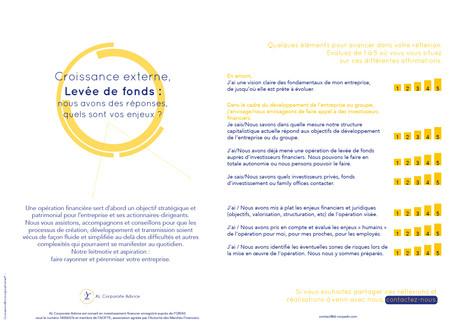 #Actionnaires-dirigeants #LevéeDeFonds : accompagner votre réflexion