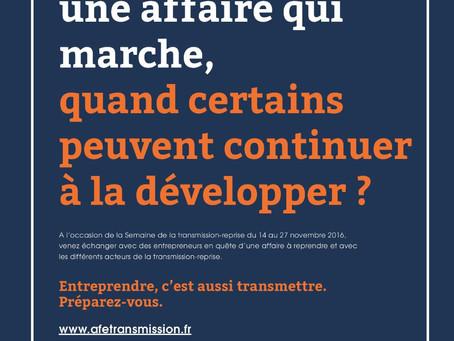 ACIFTE : Lancement de la campagne nationale en faveur de la transmission - reprise d'entreprises