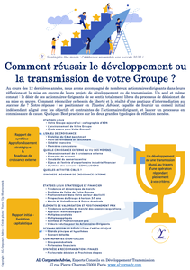 ALCorporateAdvice Développement Transmission ScalingToTheMoon